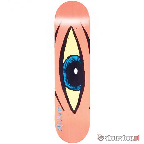 Deck TOY MACHINE Sect Eye (neon orange) 7.625