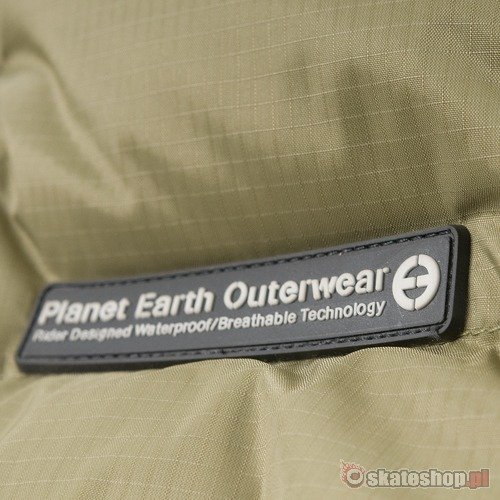 Kurtka snowboardowa PLANET EARTH Conver Tible WMN (green) zielona