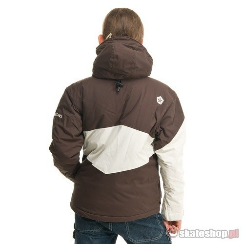 Kurtka snowboardowa SESSIONS Hanford J's (brown) brązowa