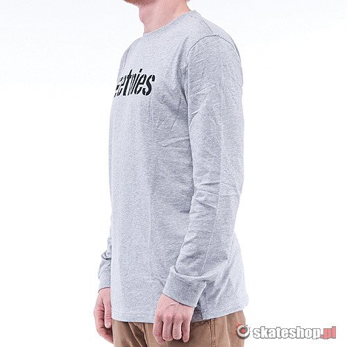 Longsleeve ETNIES Corporate 10 (grey heather) szary