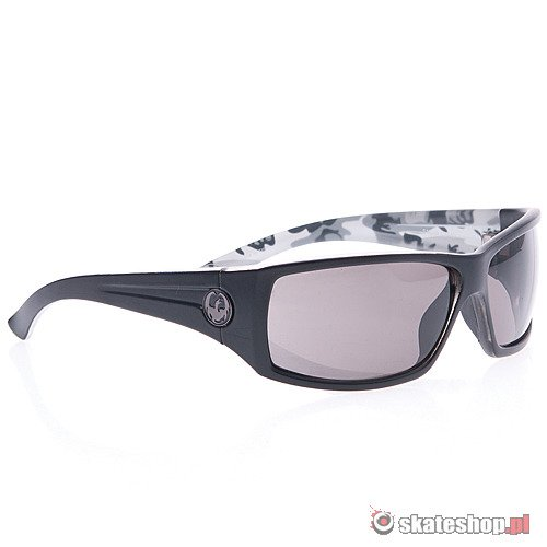 Okulary DRAGON Cinch (snow camo/grey) czarne