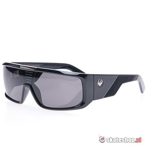 Okulary DRAGON Orbit (jet/grey) czarne