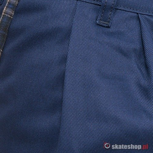 Spodnie TURBOKOLOR Chino Carrot Fit (navy/blue) granatowe